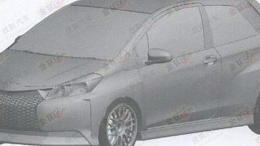 Is this an extreme Toyota Yaris with a Lexus grille?