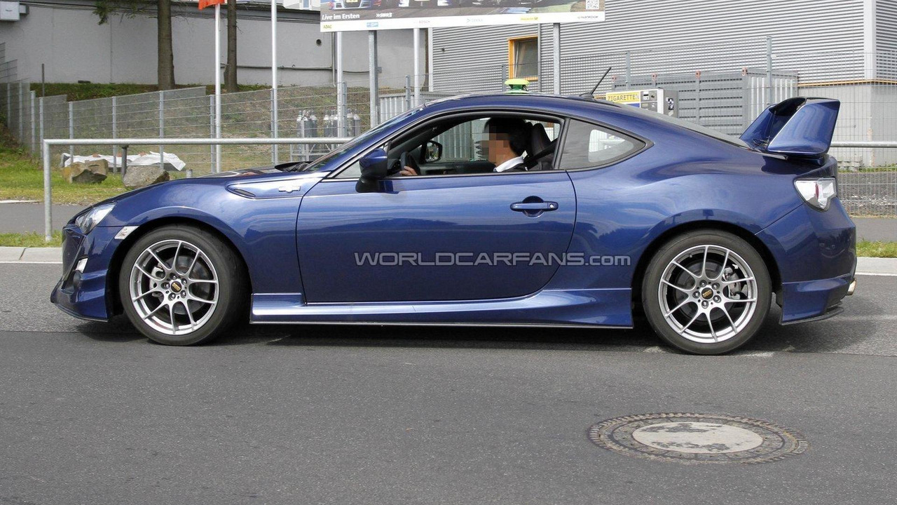toyota 86 gts aero kit spied getting ready for europe. Black Bedroom Furniture Sets. Home Design Ideas