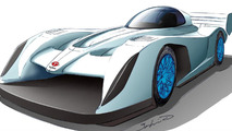 Team APEV electric race car prototype 30.3.2012