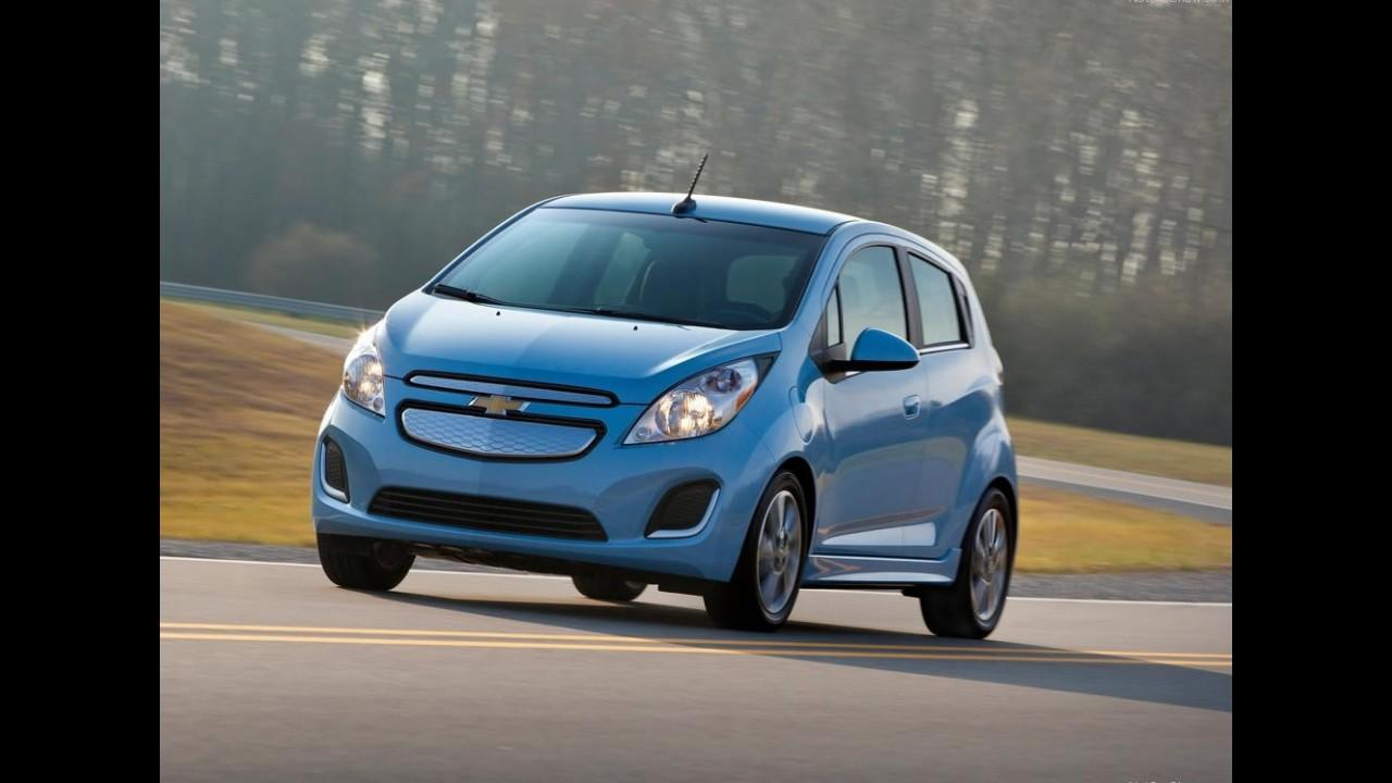 Chevrolet Spark Elétrico 2014 é revelado  - Compacto acelera de 0 a 100 km/h em 8 segundos