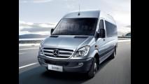 Mercedes-Benz anuncia recall para 500 unidades da van Sprinter no Brasil