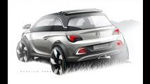 Opel mostrará mini-crossover conversível Adam Rocks no Salão de Genebra
