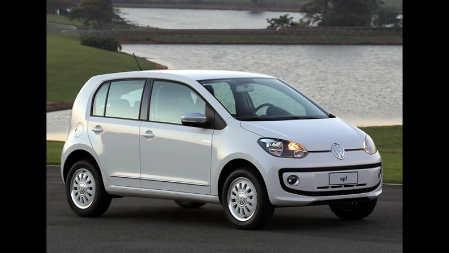 Volkswagen revela primeira foto do Up! nacional