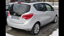 Nova Opel Meriva 2010 - Veja fotos reais do modelo de produção