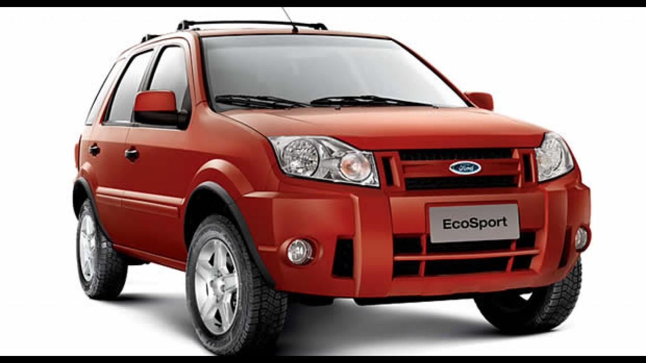 Ford oferece dois anos de revisão grátis e um ano extra de garantia para Ecosport