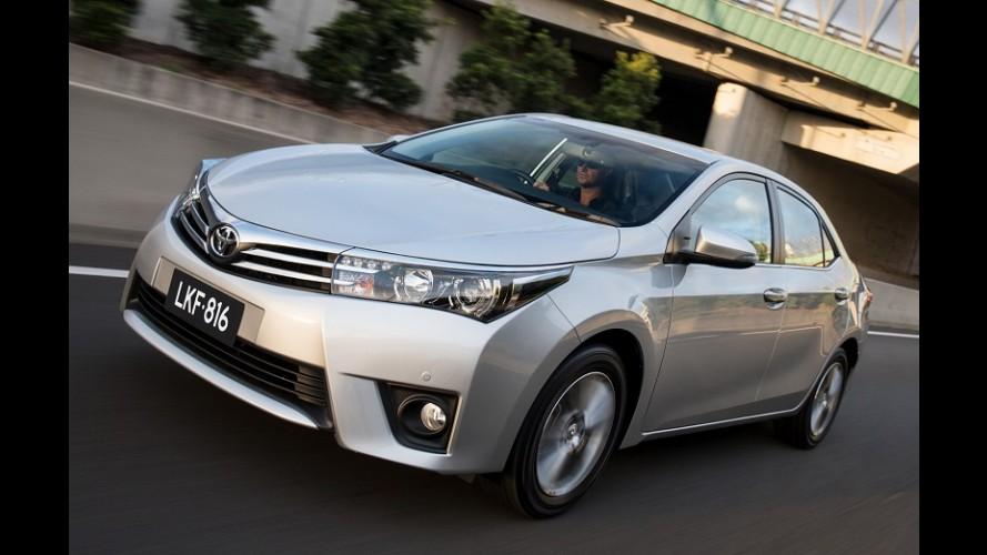 Toyota vende 10,2 milhões e fecha 2014 em primeiro, à frente da VW