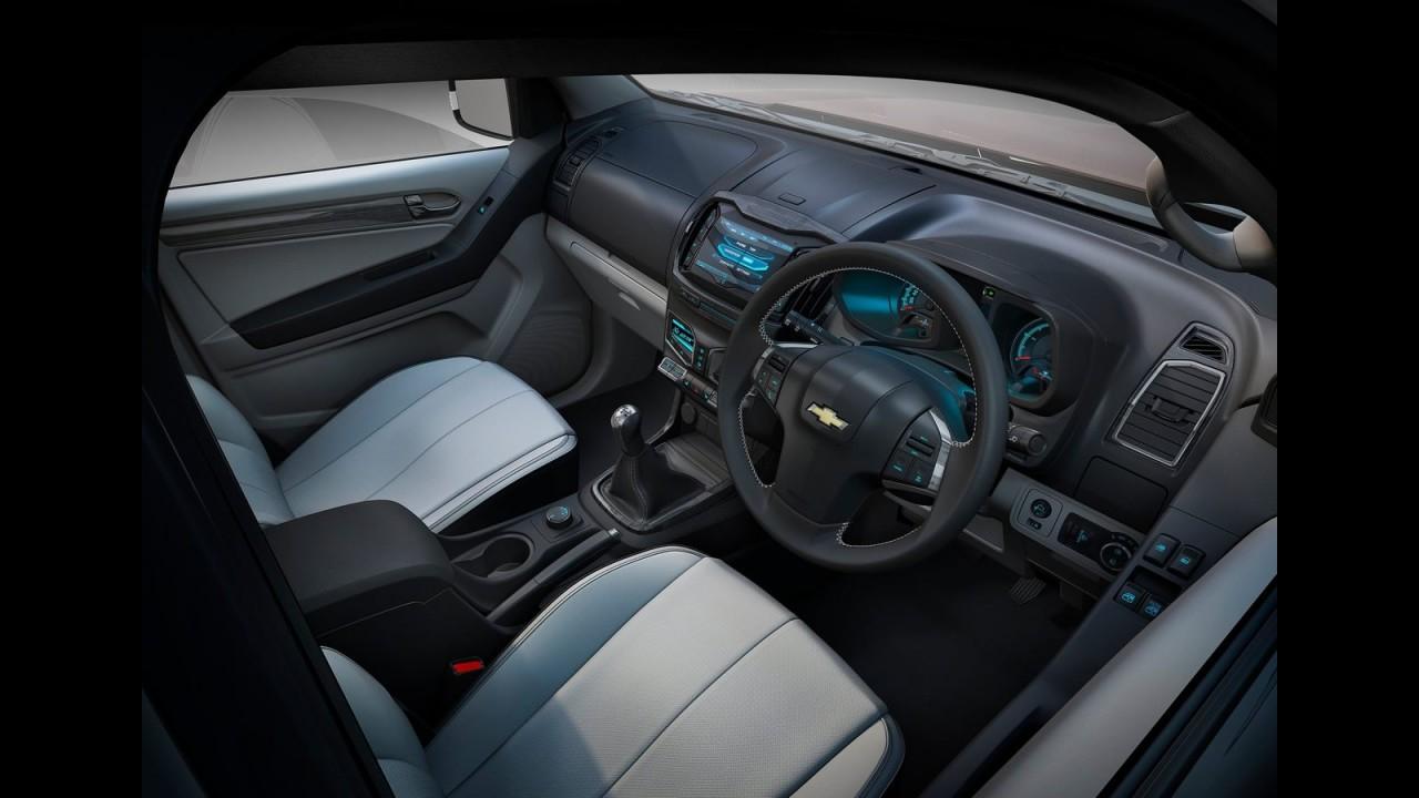 É a cara da Nova S10: Chevrolet revela a Colorado Concept 2011