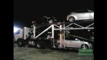 Está chegando: Leitor flagra Hyundai Veloster em caminhão cegonha