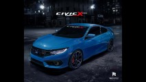 Próximo Civic Si terá motor 2.0 turbo com cerca de 230 cv