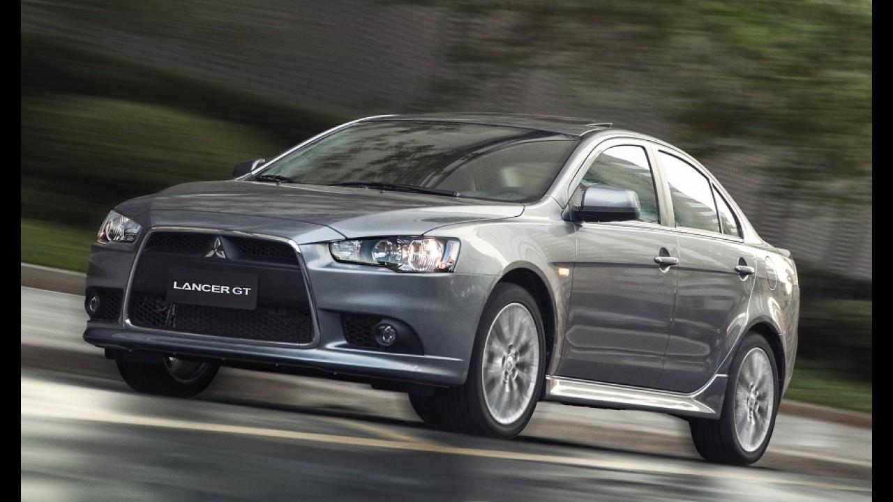 Novo Mitsubishi Lancer poderá ser irmão do Nissan Sentra