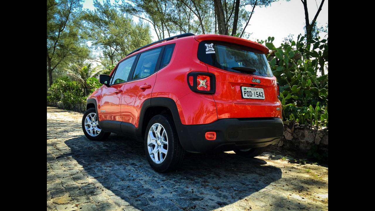 Jeep reajusta preços e Renegade fica até R$ 2 mil mais caro