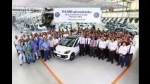 Fábrica da Volkswagen em Taubaté comemora 40 anos e 150 mil up! produzidos