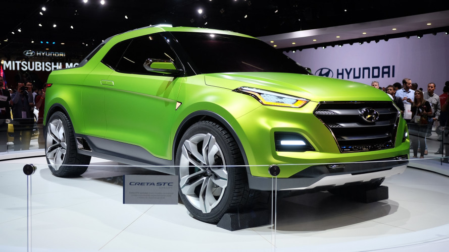 Salon de São Paulo 2016 - Le concept Hyundai Creta STC se transforme en pick-up