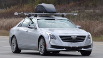 Super Cruise teknolojisine sahip Cadillac CT6 casus fotoğrafları