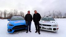 Ford Focus RS vs Subaru STI Video