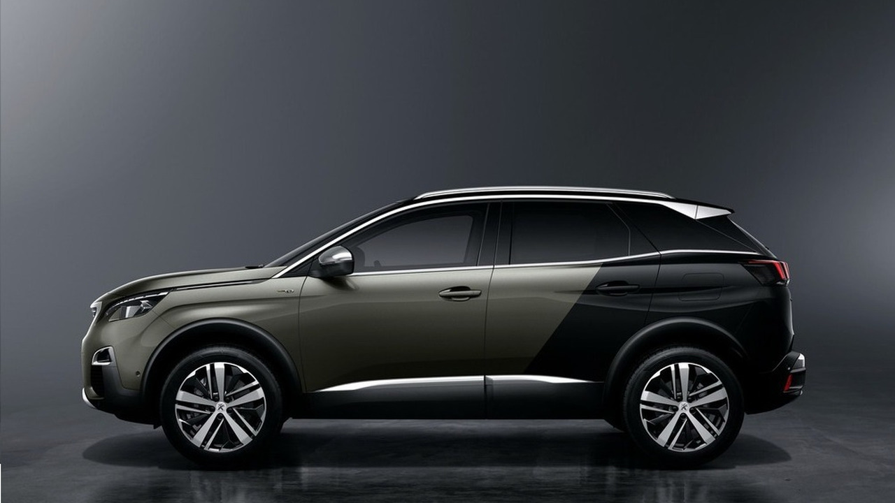 2017 peugeot 3008 could spawn spicy gti version. Black Bedroom Furniture Sets. Home Design Ideas