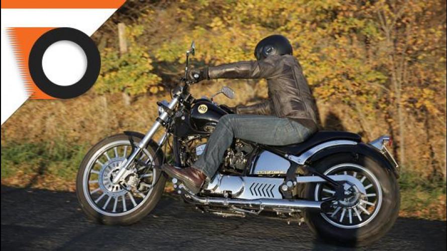 Kustom Bike Daytona 350 è la moto della settimana