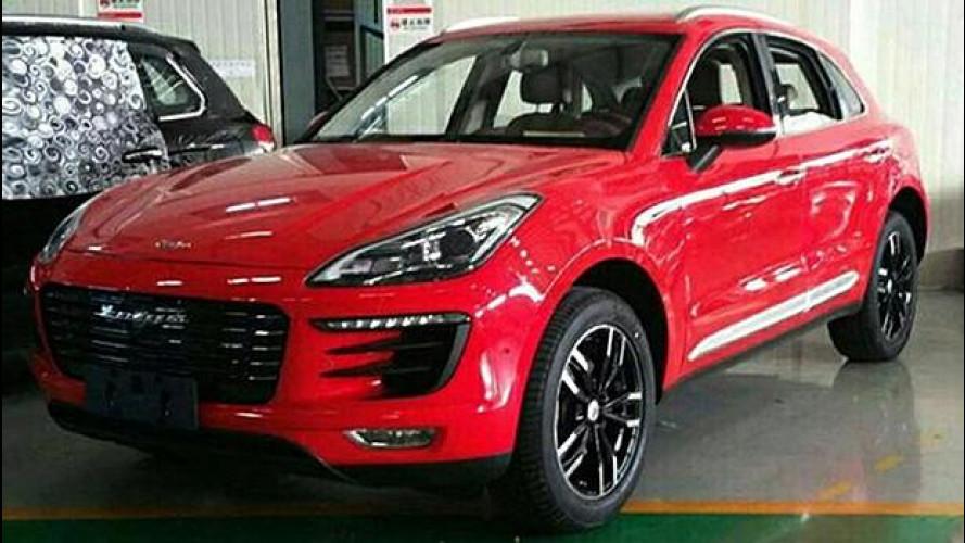 Zotye SR8, la copia cinese della Porsche Macan