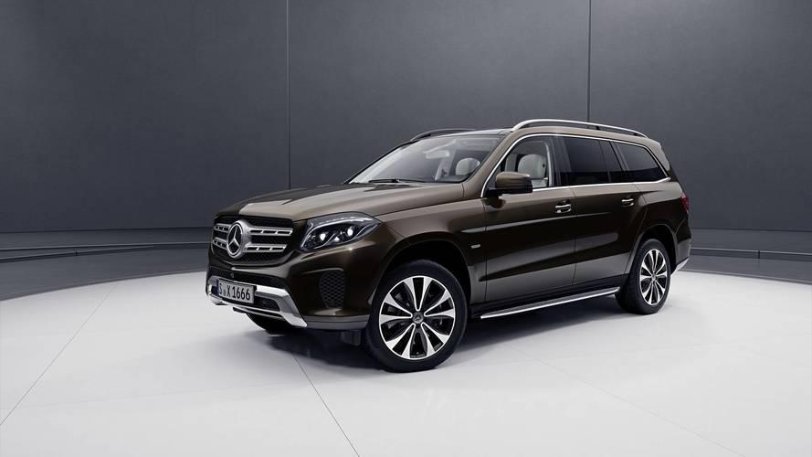 Mercedes présente le GLS Grand Edition