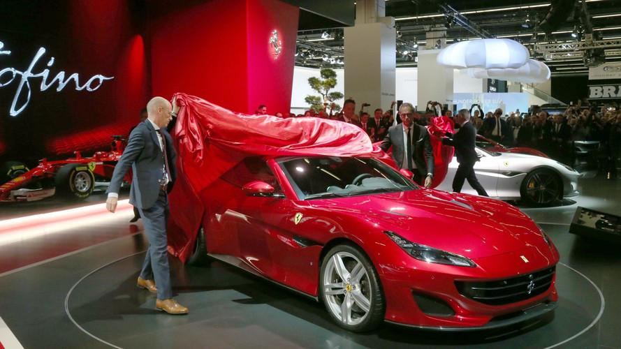 VIDÉO - La Ferrari Portofino use de son charme à Francfort