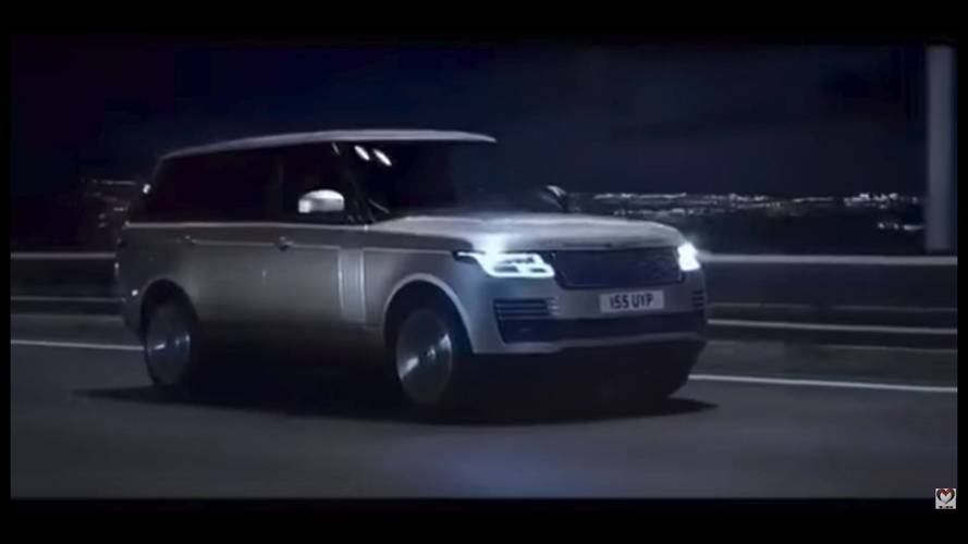 Range Rover 2018 restyling: al descubierto, en un vídeo promocional