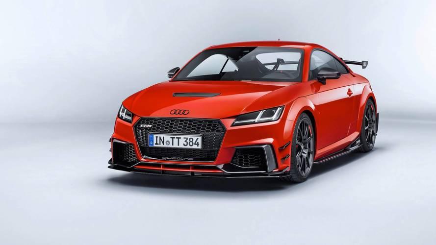 Así es el Audi TT Clubsport Turbo Concept con 600 CV