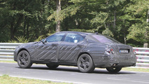 2013 Mercedes-Benz S63 AMG spied on the ring 14.07.2011