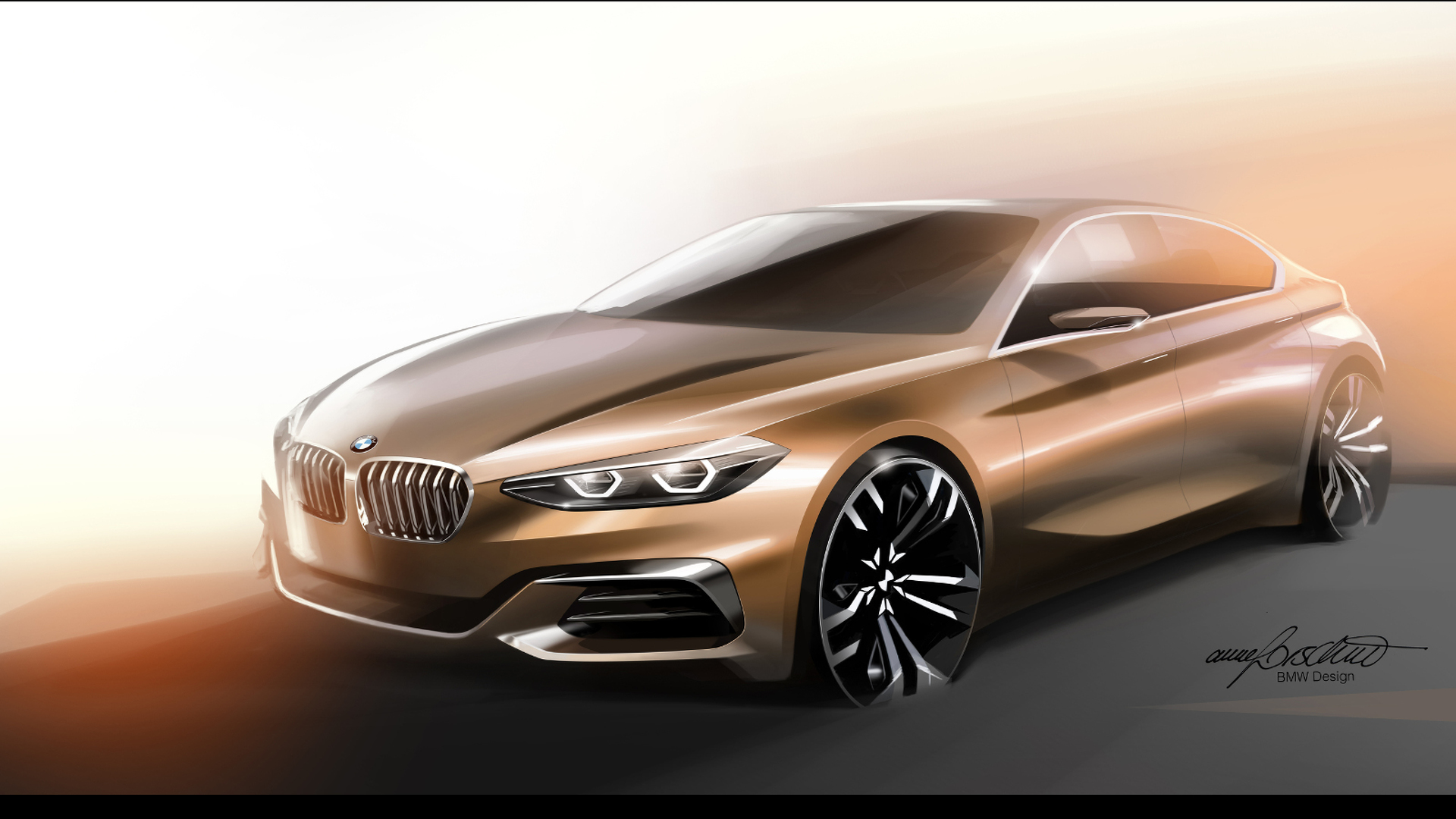 bmw 2 series gran coupe coming in 2019 with rwd. Black Bedroom Furniture Sets. Home Design Ideas