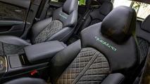 Audi RS7 Sportback painted in Apple Green Metallic looks striking