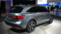 2014 Acura MDX prototype live in Detroit 15.01.2013