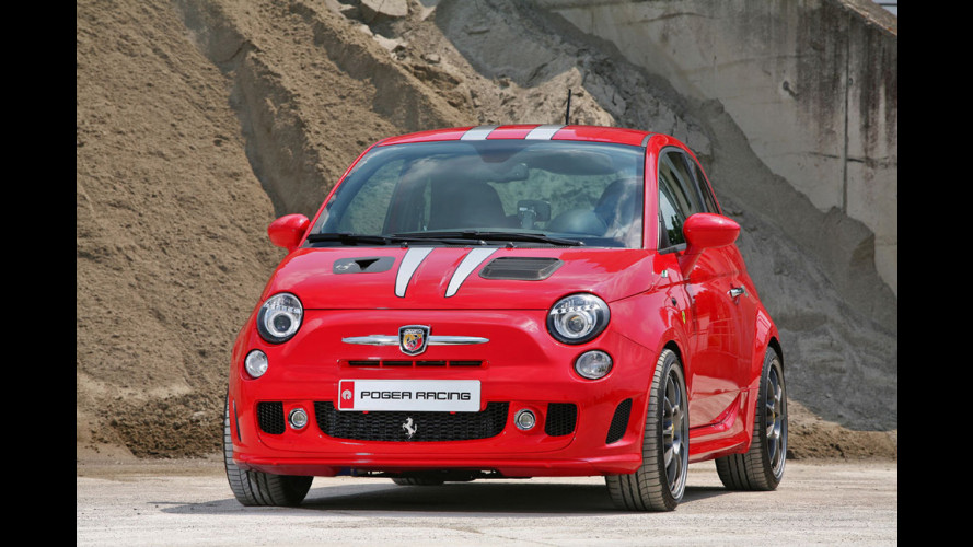 Pogea Fiat 500 Ferrari Dealers Edition