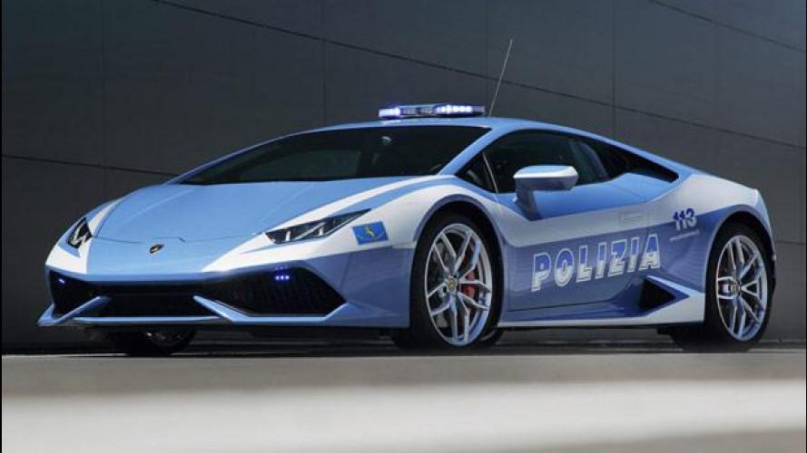 Lamborghini Huracán LP 610-4 Polizia, la nuova supercar in divisa