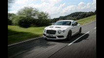 Bentley Continental GT3-R, verde di rabbia