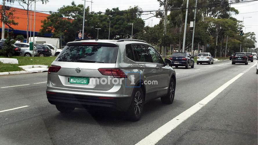 Exclusivo! Novo VW Tiguan Allspace é flagrado pela primeira vez no Brasil