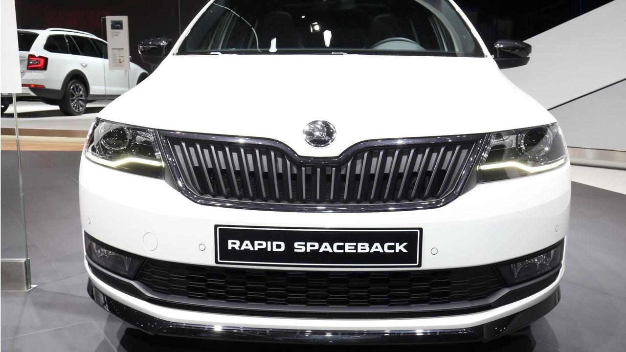 2017 skoda rapid brings sophisticated facelift to geneva for Skoda frankfurter ring