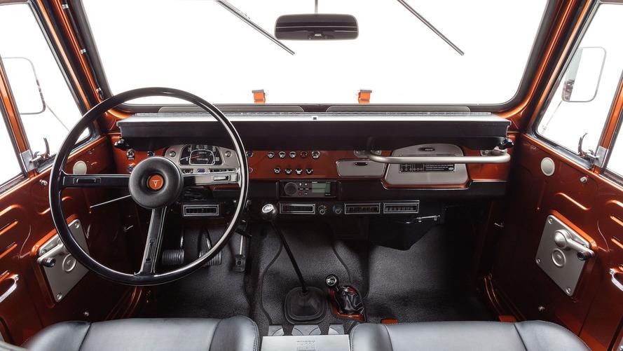 1972 Toyota FJ40 Land Cruiser Resto-mod