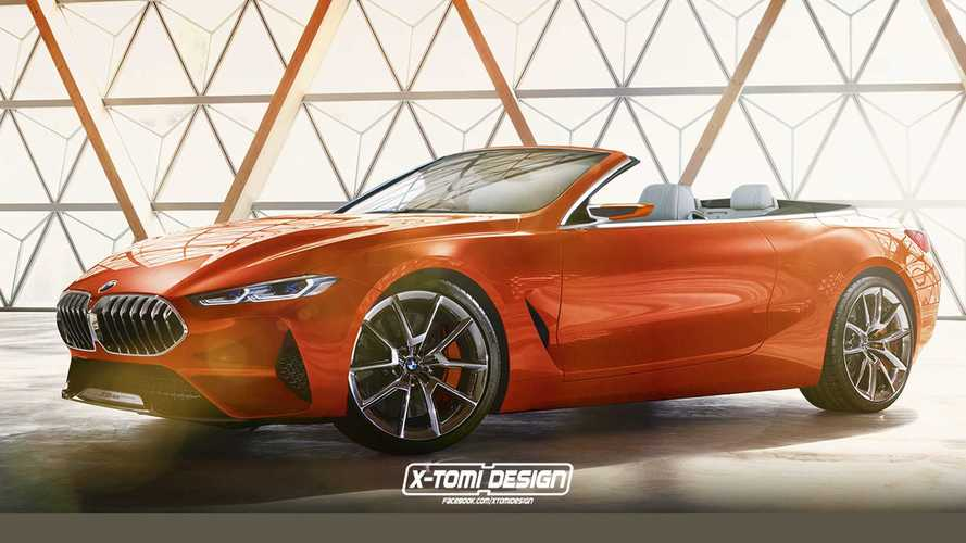 BMW 8 Series Concept Already Gets Its Roof Chopped