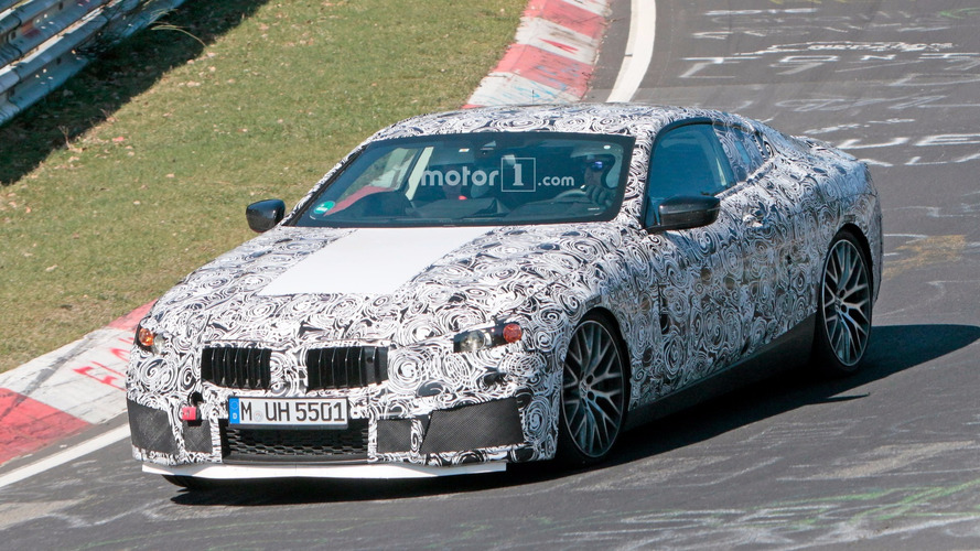 New BMW M8 Spied On The Nurburgring