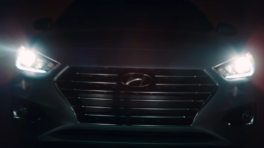 2018 Hyundai Accent teased ahead of next week's Canadian debut