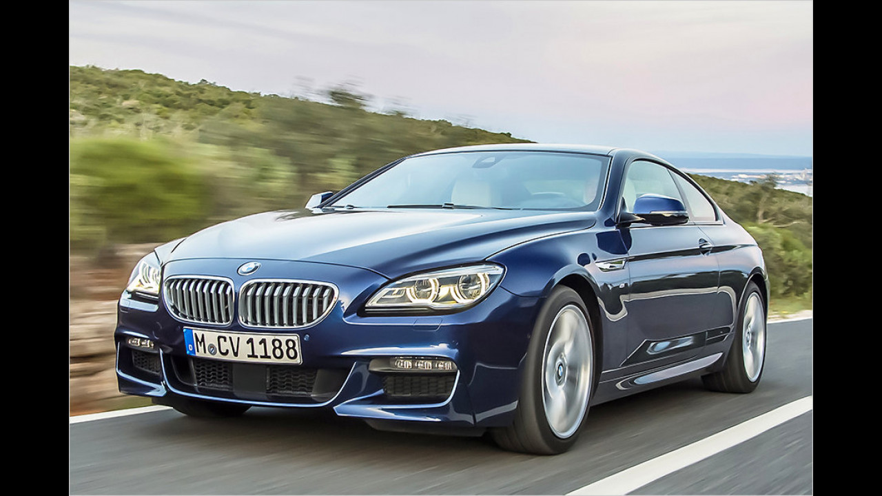 10. Platz: BMW 640d xDrive Gran Coupé