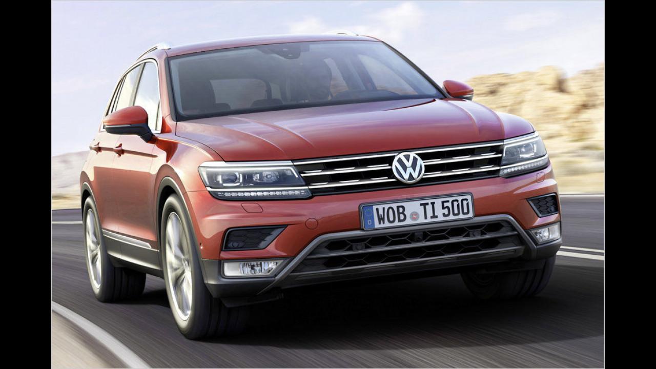 SUVs und Offroader: VW Tiguan