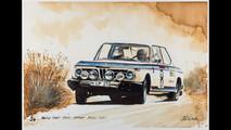 BMW Coffee Paintings