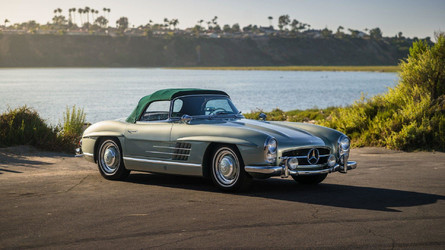 Mercedes 300 SL Roadster Tops Ferrari F40 At Auction