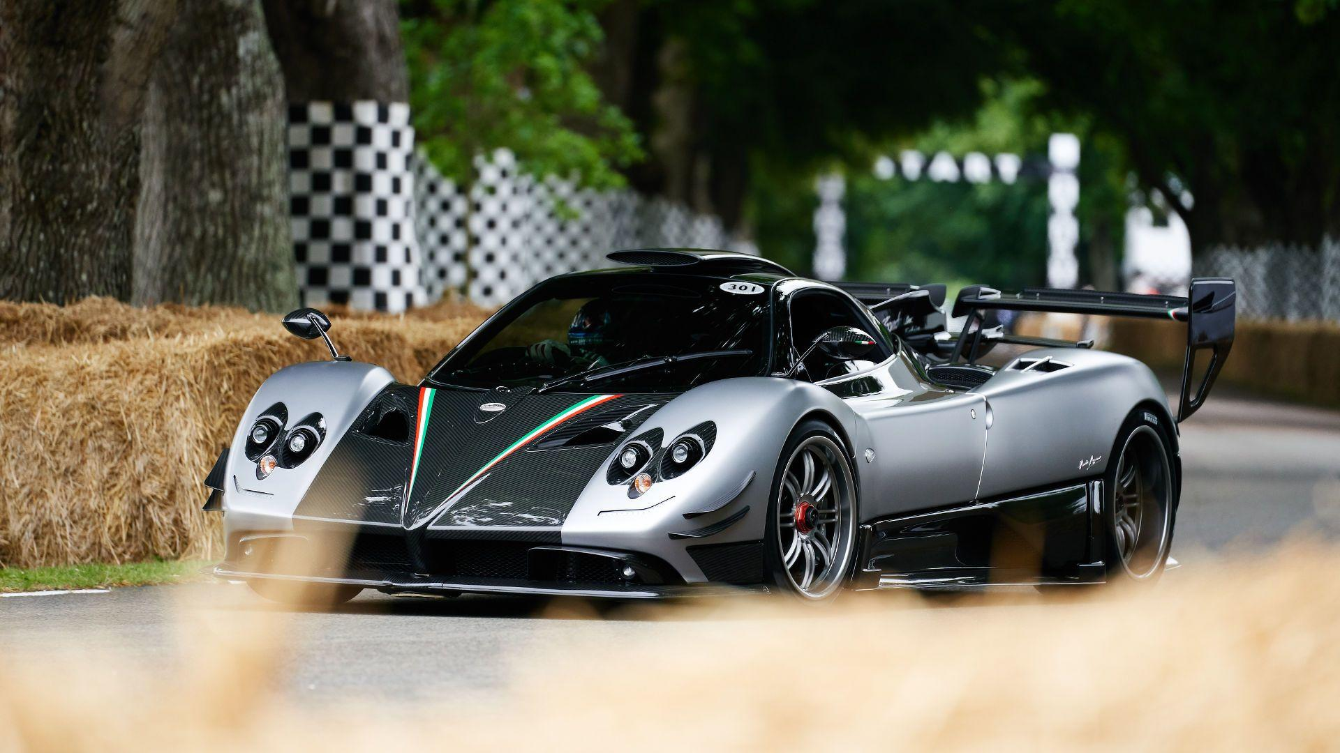 Watching The Pagani Zonda 760 Goodwood Hillclimb Never Gets Old