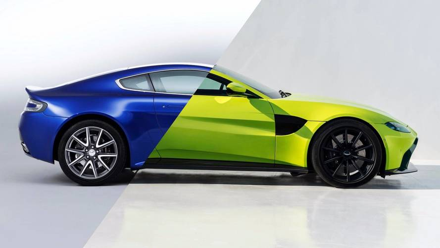 2018 Aston Martin Vantage See The Changes Side By  1