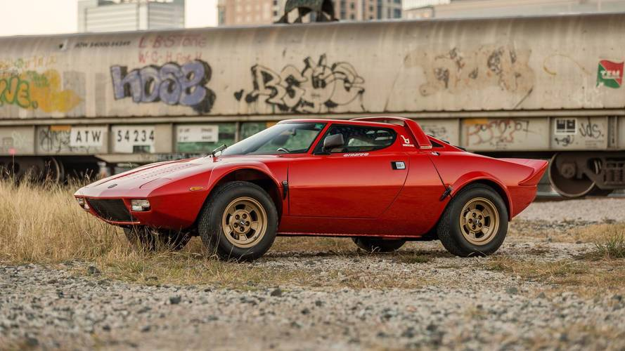 Lightly Used Lancia Stratos Sells For A Whopping $475,000
