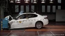 Alfa Romeo Giulia Crash Test e le concorrenti