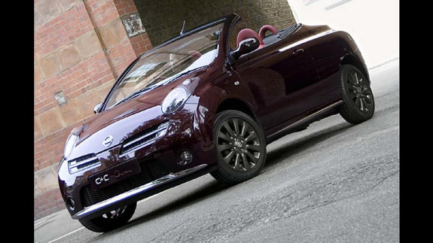 Nissan Micra C+C: Gestylte Version steht in London