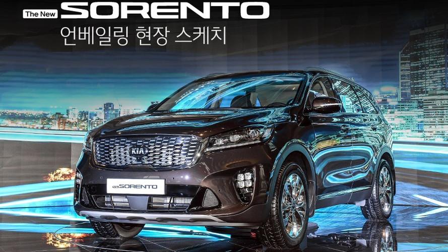 Kia Sorento 2018 com facelift