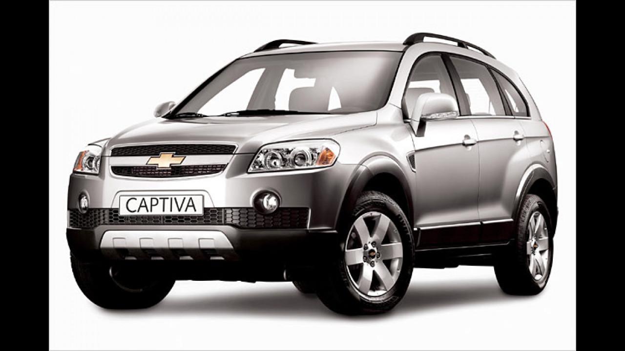 Chevrolet Captiva: Neuer Kompakt-SUV